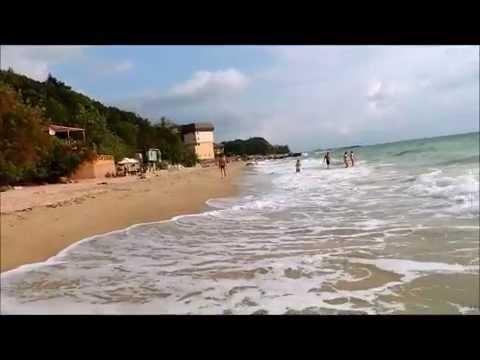 Пляж ривьера золотые пески болгария