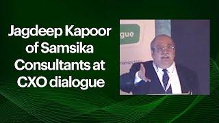 Jagdeep Kapoor of Samsika Consultants at
