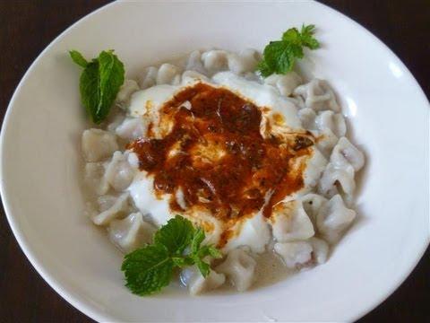 Türkische Tortelinis mit Hack-Türkische Rezepte-Manti