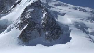 Kay Rush, my first time skiing down the Vallée Blanche in Chamonix Part One.mov