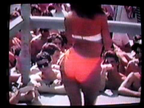 1989 Spring Break bikini contest