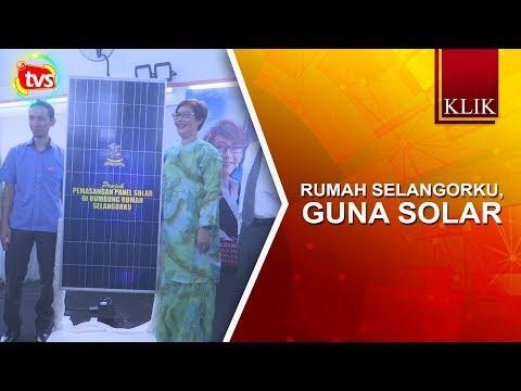Rumah Selangorku guna solar