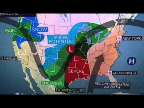 Extreme Weather Forecast For America (Snow, Tornados, Heat, Rain) Chaos