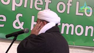 Azaan at Bradford City Park - Mawlid in Park 2014