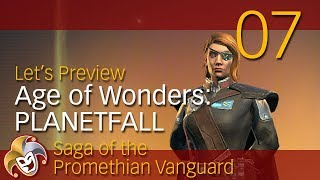 Age of Wonders PLANETFALL ~ Vanguard Preview ~ 07 Vanguard City