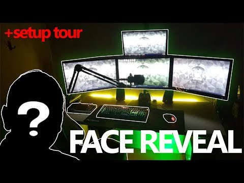 TheRealKenzo Face Reveal, Setup Tour and Unboxing (50k Subscriber Special!!!)