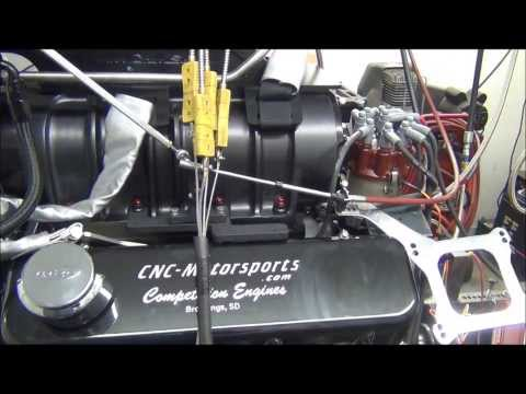 BB Chevy 555 with 10/71 Blower. 1300+ Horsepower Built By CNC-Motorsports