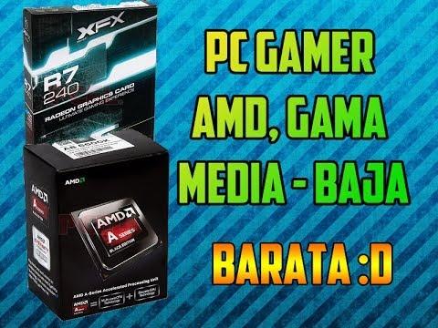 COMO ARMAR UNA PC GAMER AMD GAMA MEDIA - BAJA :D