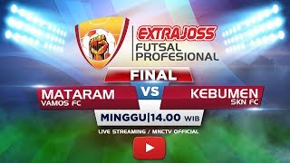 Download Lagu FINAL VAMOS (MATARAM) VS SKN FC (KEBUMEN) - (FT : 6-1) Extra Joss Futsal Profesional 2018 Gratis STAFABAND
