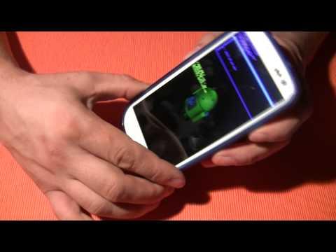 Видео как снять код телефона Samsung