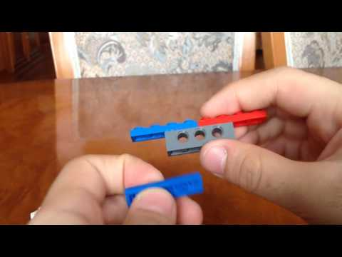 Как сделать спиннер без подшипника из лего