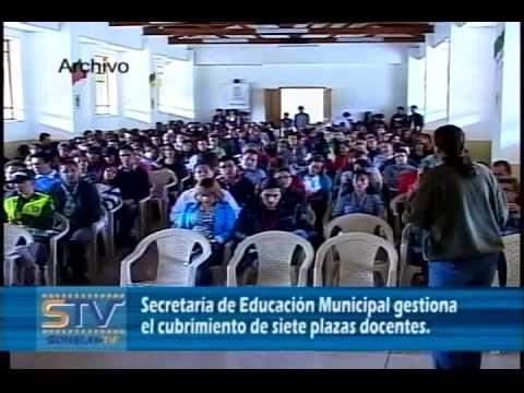 Secretaría de Educación Municipal gestiona el cubrimiento de siete plazas docentes