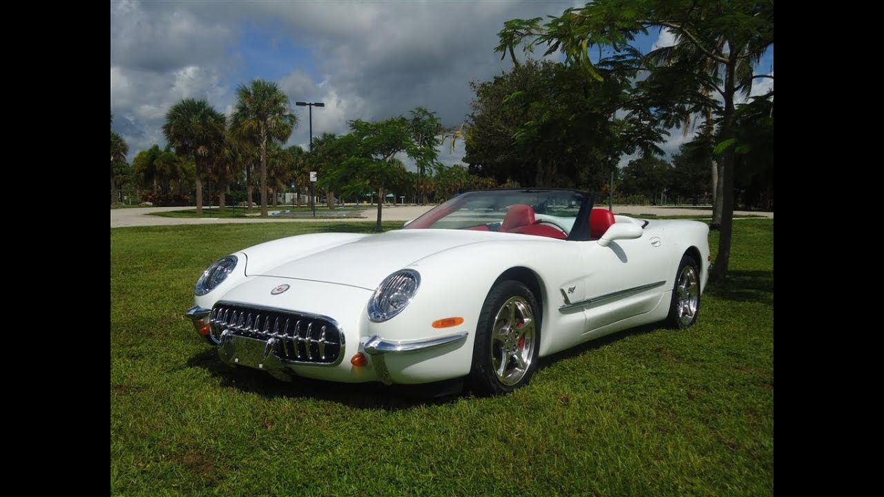 Corvette For Sale >> 2004 1953 Retro Corvette for Sale - YouTube