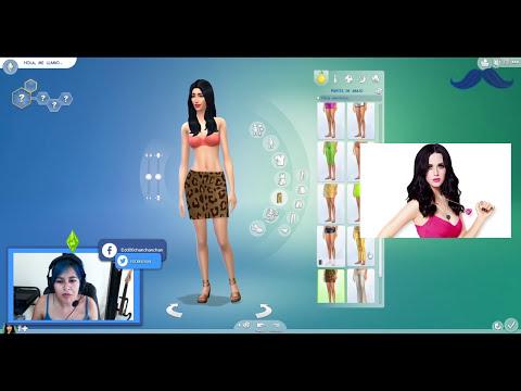 Los sims 4 - RETO CAS DEMO - Katy Perry en LOS SIMS 4