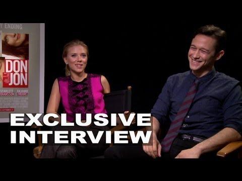 Don Jon: Joseph Gordon-Levitt & Scarlett Johansson Exclusive Interview
