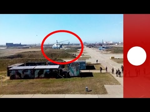 Four Ukrainian MI-8 helicopters and three planes managed to escape from a naval air base in Crimea on Tuesday (March 4) which was later allegedly taken over ...