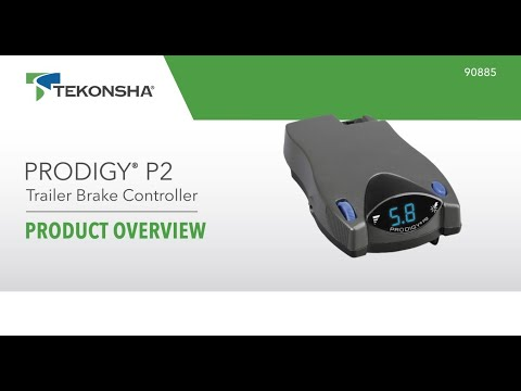 Tekonsha® Prodigy® P2 Trailer Brake Controller | 90885 | Product Overview