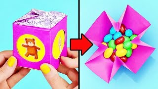 16 CUTE DIY PAPER BOXES FOR KIDS