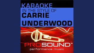Jesus Take The Wheel Karaoke With Background Vocals In The Style Of Carrie Underwood