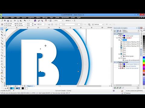 Fazendo Logotipo  CorelDRAW X6