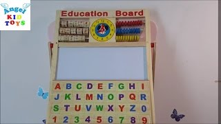 Học tiếng Anh Learn English and Calculation with education board