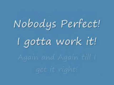 Nobody's Perfect - Hannah Montana/Miley Cyrus (lyrics)