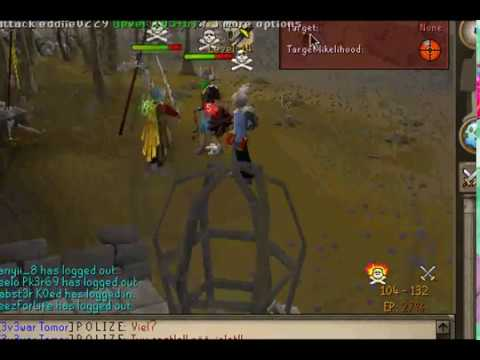 "RuneScape - P O L I Z E & i0o00o0l Feasting '09 prods| PvP/BH Vid#4 ""Preview"""