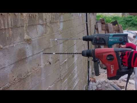 САМ НЕ ОЖИДАЛ ! HILTI 220v VS  MAKITA 18v - ! БУР 12мм