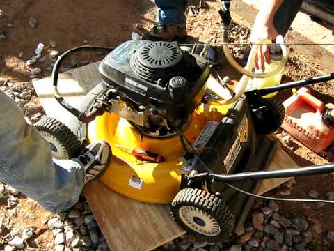 GEET (Paul Pantone) gasoline engine running on diesel