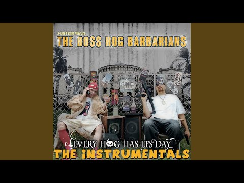 The Boss Hog Barbarians - Steady Smobbin'