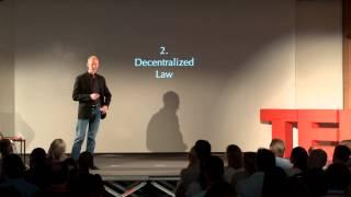 The four pillars of a decentralized society | Johann Gevers | TEDxZug