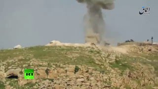 ISIS releases video of alleged destruction of Turkish tank with guided missile near Mosul
