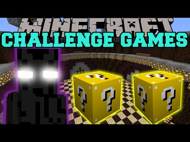 Minecraft ENDER LORD CHALLENGE GAMES - Lucky Block Mod - Modded Mini-Game