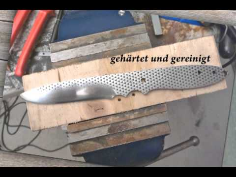 selbstgemachtes messer aus einer feile knife from a file youtube. Black Bedroom Furniture Sets. Home Design Ideas