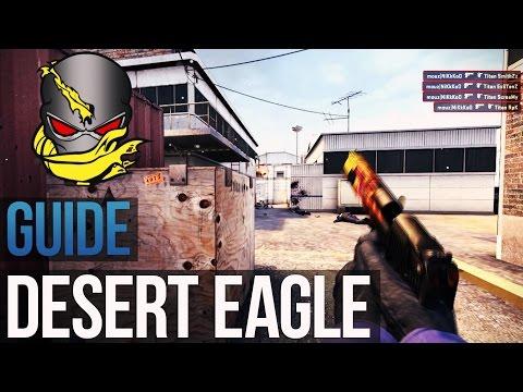Учимся стрелять из Desert Eagle, как читеры.