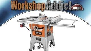 Ridgid R4512 10 inch Hybrid Table Saw