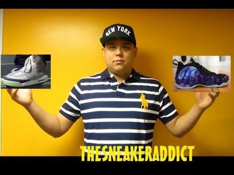 Nike Air Yeezy Vs Nike Foamposite Galaxy One Sneaker W/ @DjDelz #PickOne