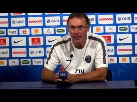 PSG, Conference de presse Laurent Blanc 24/07/2014
