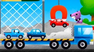 Мультик для детей - Свалка машинок. Машинки мультфильмы. Мультики для детей 3 лет.
