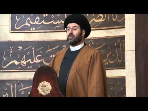 Imam Hassan Qazwini Addresses the Future of the Islamic Center of Amer...