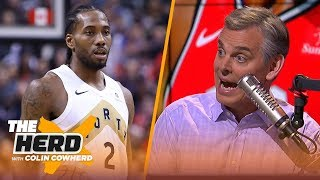 Colin Cowherd says Kawhi isn't a 'lead dog', talks Lakers HC having the hardest job | NBA | THE HERD