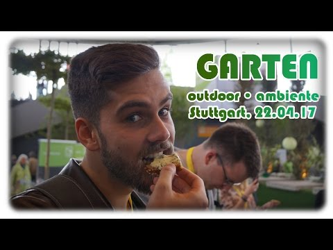 GARTEN outdoor • ambiente + Slow Food  | Bloggertreffen 2017 | Messe Stuttgart