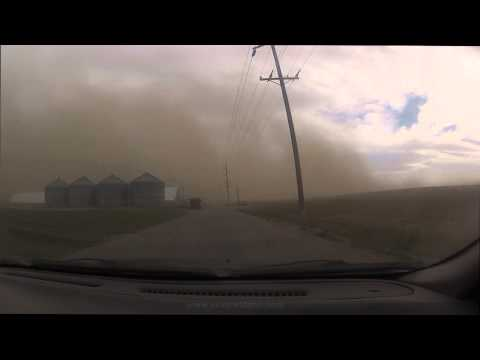 04/29/2013 Major Wind & Dust Storm in Eastern Idaho  (HD)