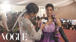 Lilly Singh on Representing Toronto at the Met Gala | Met Gala 2019 With Liza Koshy | Vogue