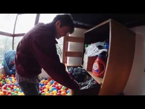 How do you live in a ball pit?