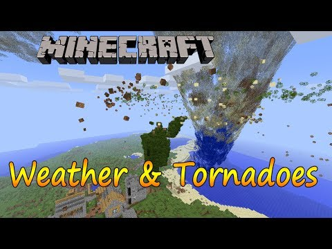 Minecraft 1.6.4 - Instalar Weather & Tornados / Español
