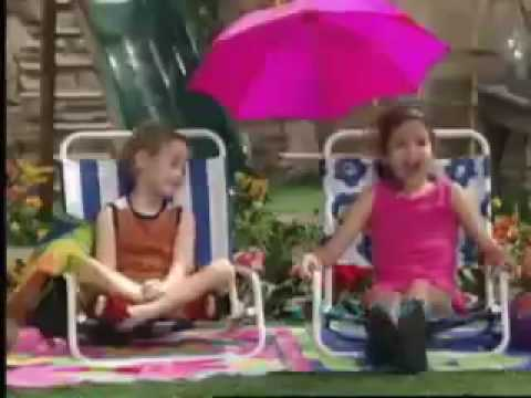 Demi Lovato and Selena Gomez - Barney & Friends Clip