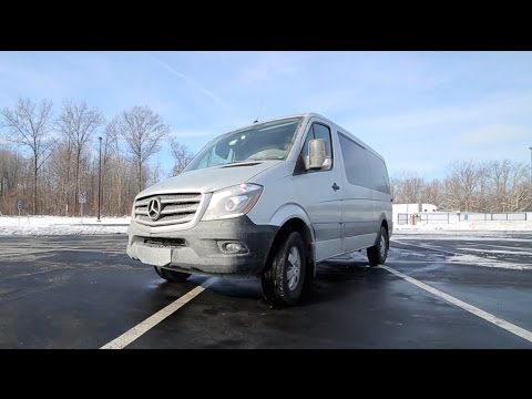 2015 Mercedes-Benz Sprinter Passenger Van Review - Fast Lane Daily