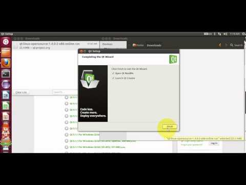 How to install Qt Creator and SDK on Linux Ubuntu