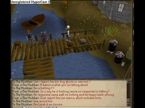 runescape noob got caught cheating